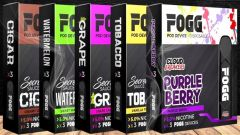 Fogg Vape Disposable Pods By Secret Sauce