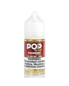 Pop Clouds The Salt Nicotine Salt E-Juice - 30ml - Strawberry