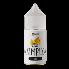 Simply Tobacco Salts - Gold 30ml