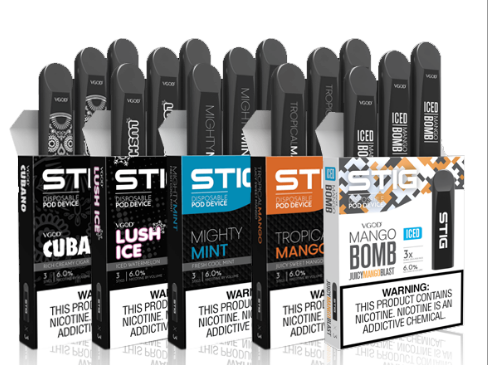 VGOD Stigs- Disposable Nicotine Pods 5%