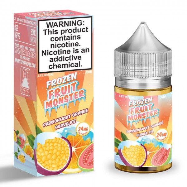 Passion Fruit Orange Guava by Fruit Monster Nic Salt - 30ml