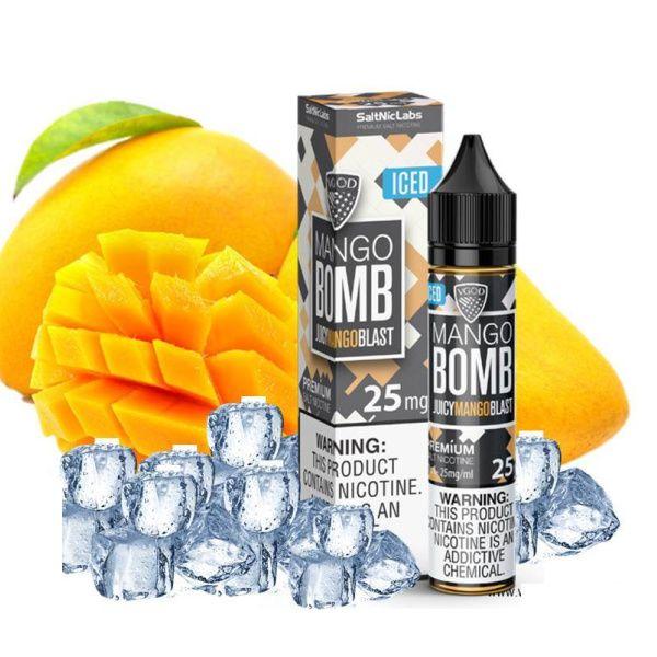 VGOD Saltnic Labs - Mango Bomb Iced Eliquid 30ml
