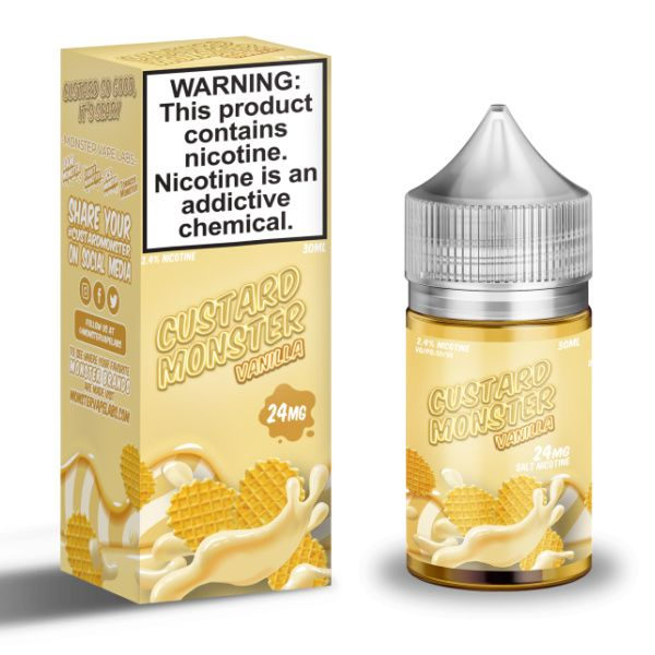 Custard Monster - Vanilla Salts 30ml