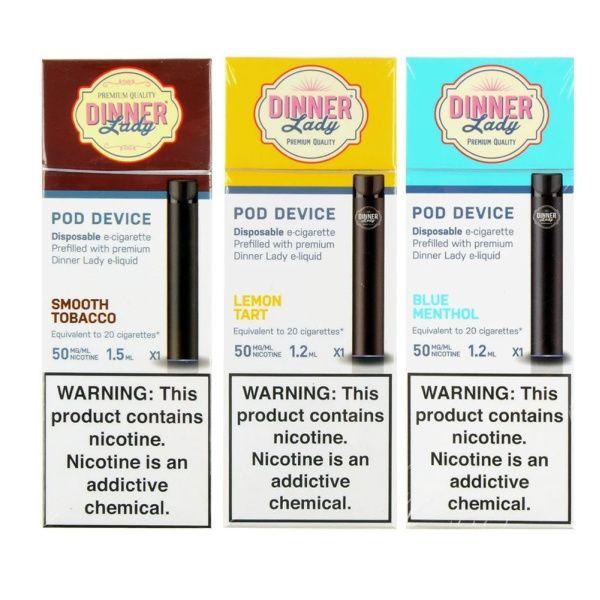Vape Dinner Lady Nicotine Disposable Pods 1pcs