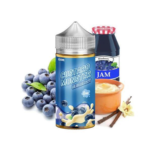 Custard Monter - Blueberry 100ml