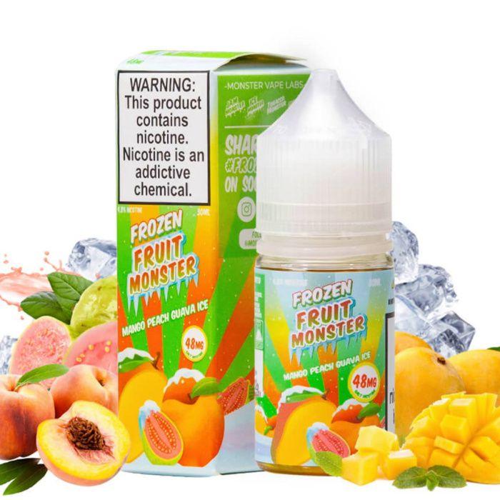 Frozen Fruit Monster - Mango Peach Guava Salts 30ml