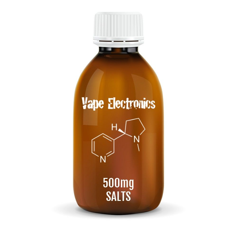 500mg Unflavoured Nicotine Salts