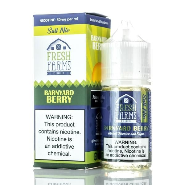 Fresh Farms Barnyard Berry Salts 30ml Eliquids Ejuice