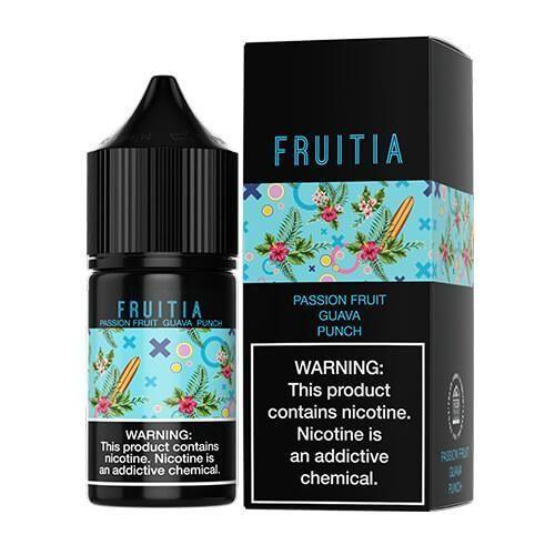 Passion Fruit Guava Punch Fruitia Salts 30ml
