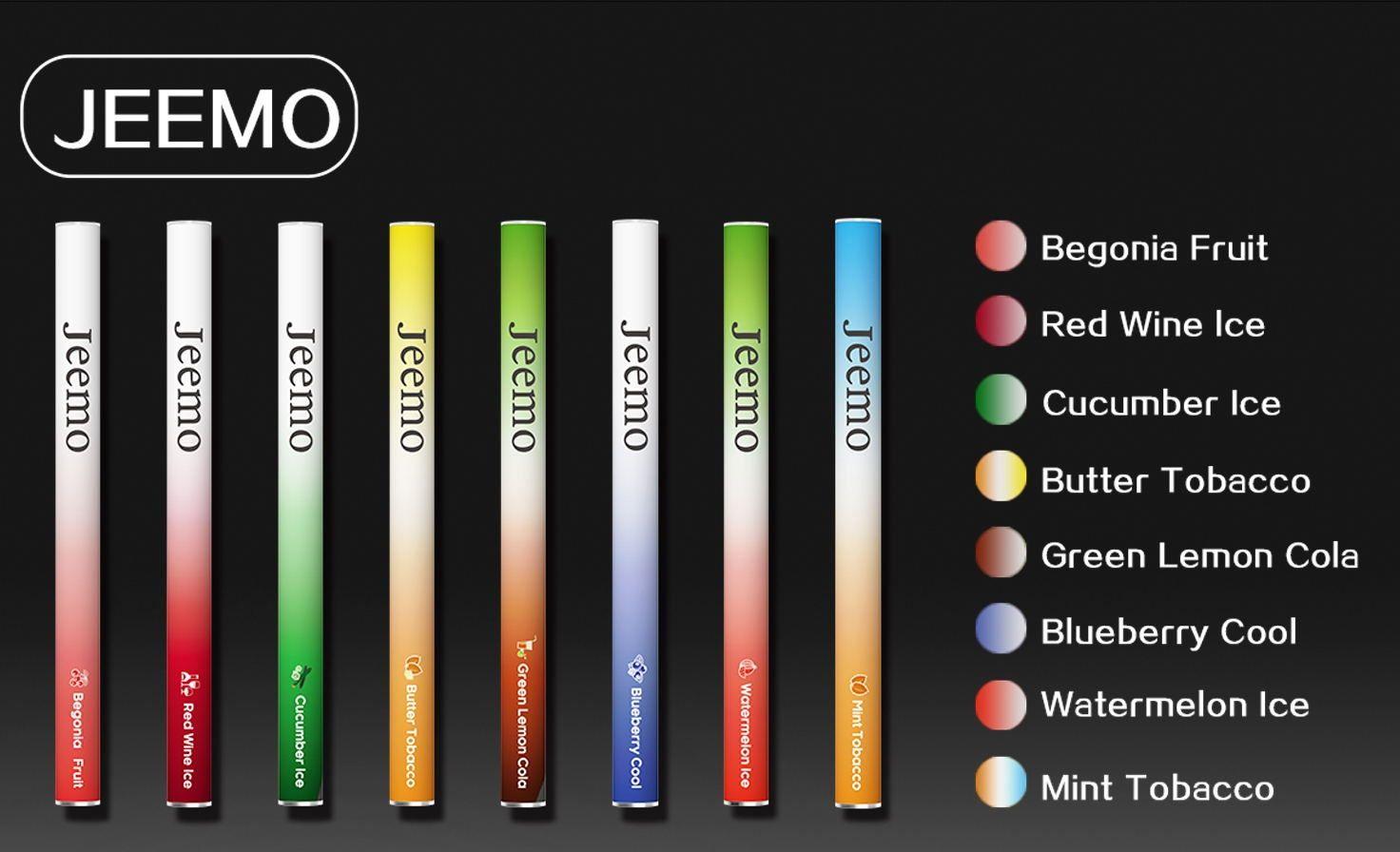 Jeemo Dispoable Nicotine Pods - 5pc Box