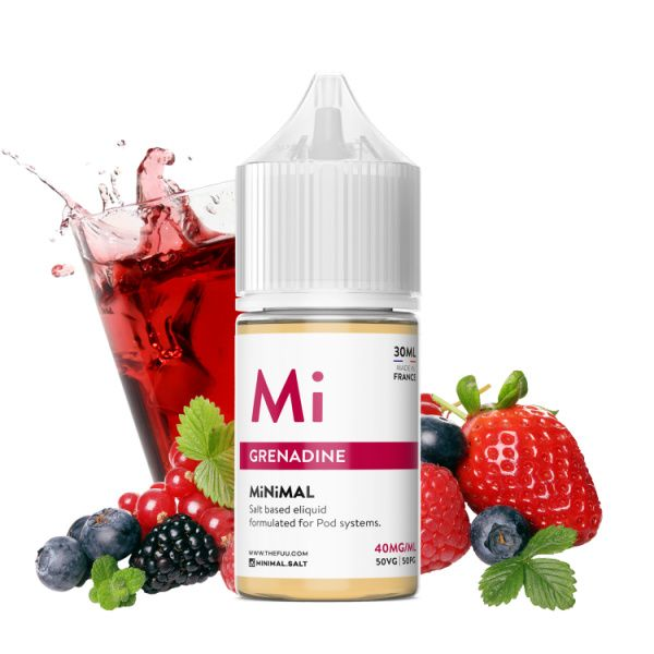 MiNiMAL - Grenadine Salts 30ml