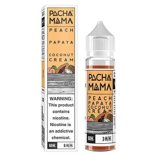 Pachamama - Peach Papaya Coconut Cream 60ml