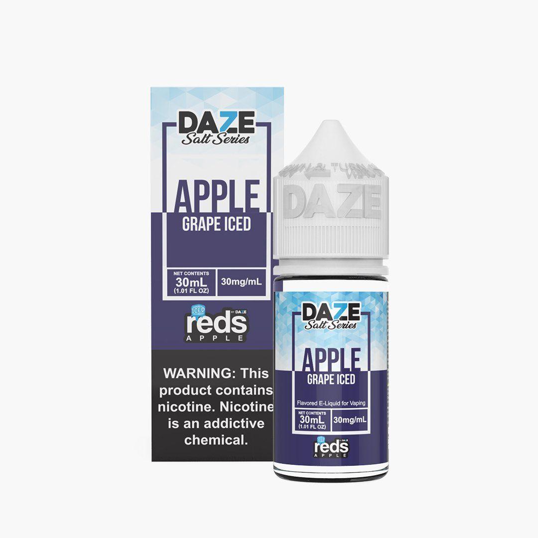 Reds Apple Salts - Reds Grape ICED