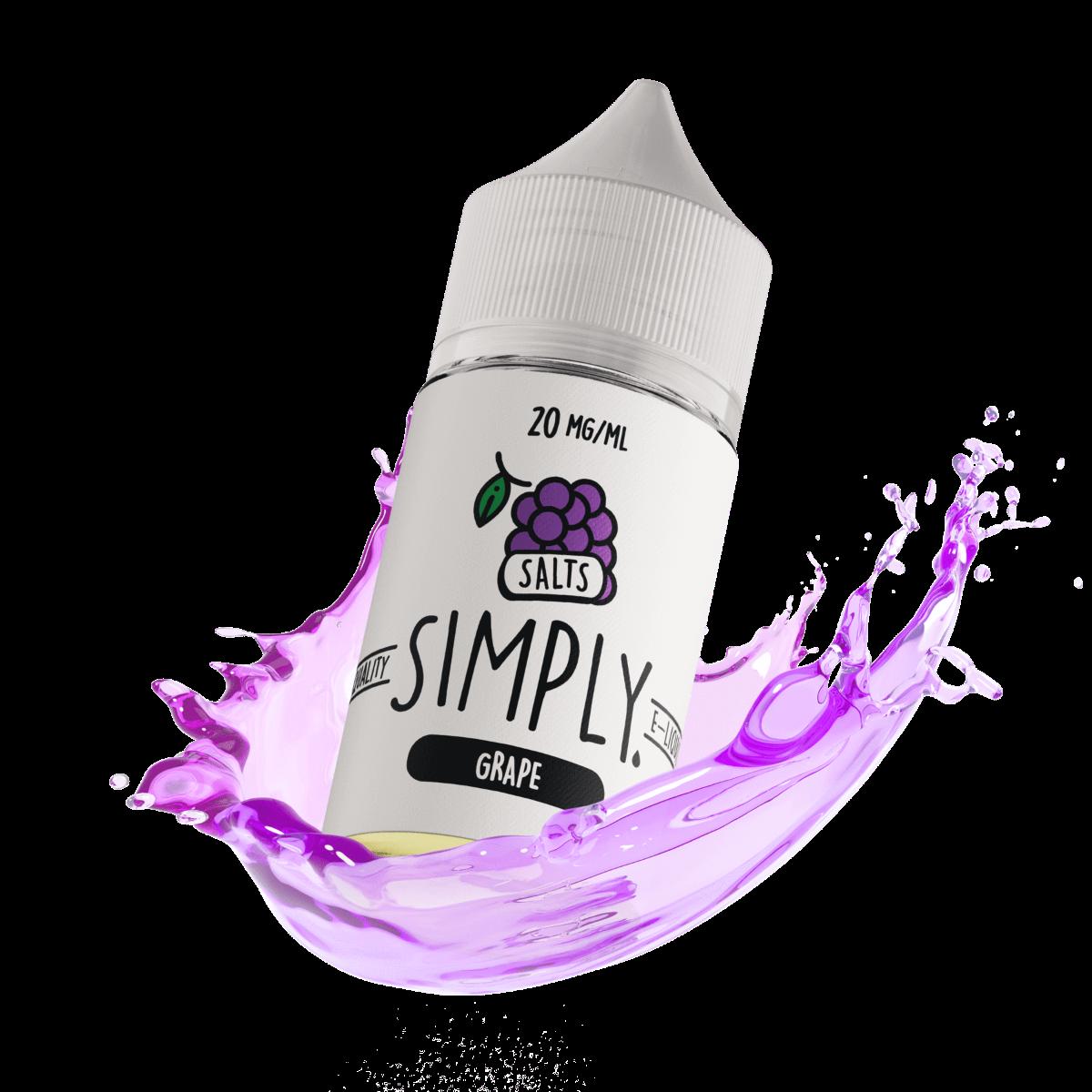 Simply Salts - Grape 30ml