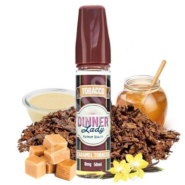 Dinner Lady Sweet Caramel Tobacco Eliquid 60ml